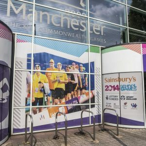 MediaCo Graphics at the Aquatic Centre