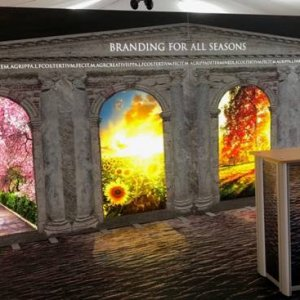 custom backlit printing - Media Co
